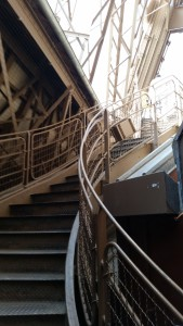 eiffel stairs